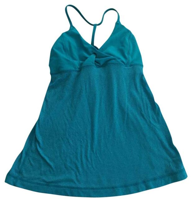 Item - Blue Tank Activewear Top Size 4 (S, 27)