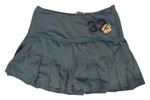 Old Navy Cute Girly Mini Skirt Blue