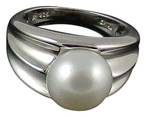 Honora Honora Cultured Pearl 9.5mm Polished Sterling Silver Ring - Size 10