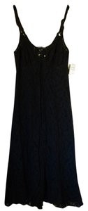 Black Maxi Dress by Claire Pettibone Lace Nighty Nightgown Lingerie