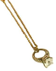Juicy Couture Ring-bling necklace