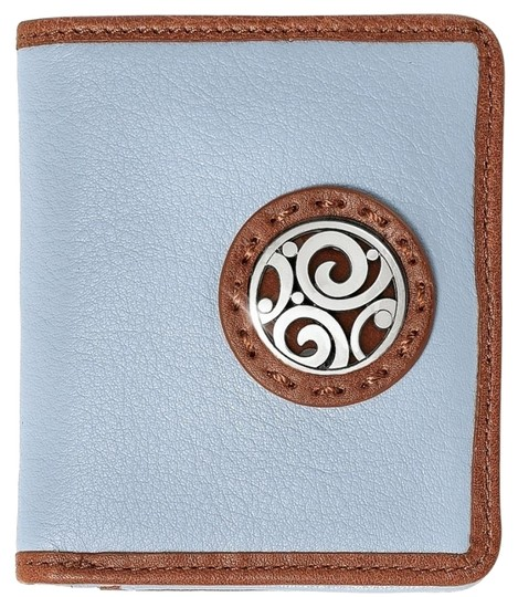 Preload https://img-static.tradesy.com/item/16005313/brighton-light-blue-and-light-brown-london-groove-petite-wallet-leather-wallet-0-2-540-540.jpg