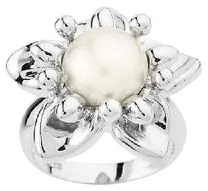 Honora Honora Cultured Pearl 9.5mm Button Flower Ring - Size 8