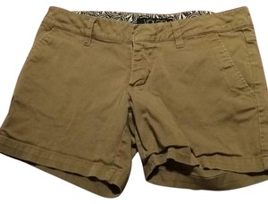 Volcom Dress Shorts Dark khaki