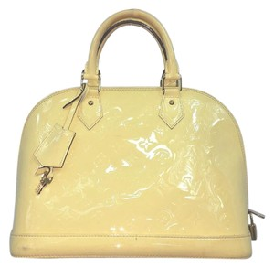 Louis Vuitton Beige Alma Satchel