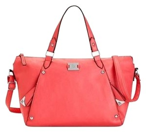 Style & Co Satchel in Coral