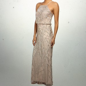 Adrianna Papell Blush/Champagne ('Shell' On Tag) Dress