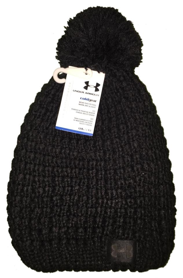8e570d26f1c ... ireland under armour womens under armour coldgear infrared fashion knit  pom beanie style 1249621 10a02 dafde