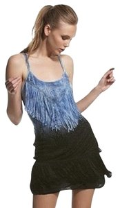 Free People Ombre Fringe Shake It Dress
