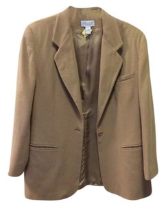 LANDS END TAN Blazer