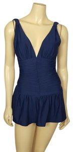 Shape FX SHAPE FX SWIM navy blue one piece swimsuit size 8T