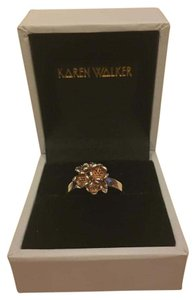 Karen Walker Floral Ball Ring