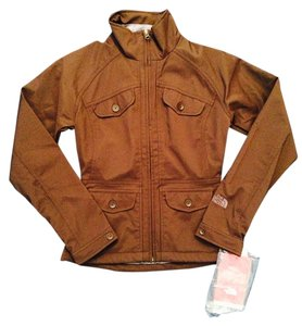 The North Face Water-repellant Brownie Brown Jacket