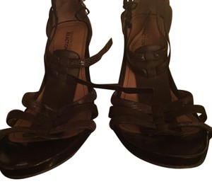 Kenneth Cole Reaction Brown and wood Sandals