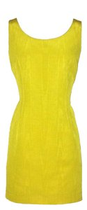 Moschino short dress Yellow on Tradesy