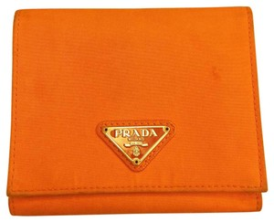 Prada Trifold Fabric/leather