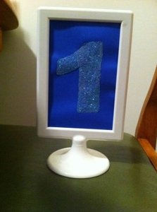 Ikea 2sided Picture Frame Centerpiece