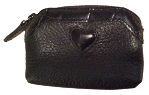 Brighton Brighton Black Leather Coin Purse