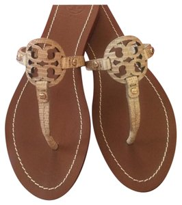 fb2292743 Beige Tory Burch Sandals - Up to 90% off at Tradesy