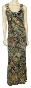 multi-colored Maxi Dress by Sunny Girl Forest Animal
