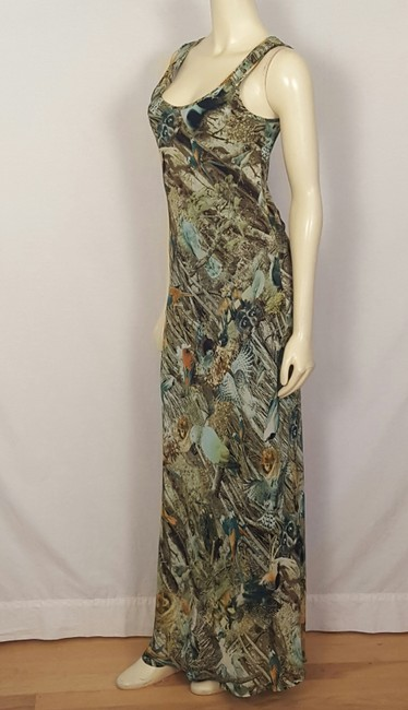 multi-colored Maxi Dress by Sunny Girl Forest Animal Image 2