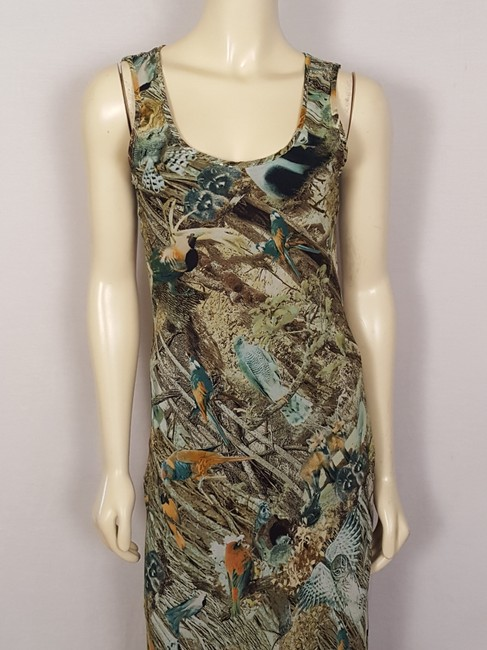 multi-colored Maxi Dress by Sunny Girl Forest Animal Image 7