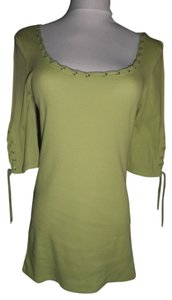 GLO Jeans Top Lime