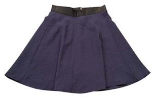 3.1 Phillip Lim for Target A Line Skirt Navy Blue