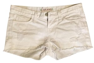 J Brand Cut Off Shorts White