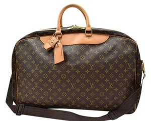 Louis Vuitton Alize 2 Luggage Travel Monogram Travel Bag