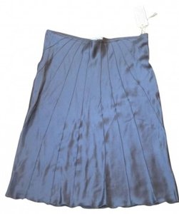 Yoana Baraschi Silk Skirt Gray