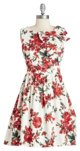 Modcloth short dress Floral Print on Tradesy
