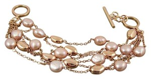 Honora Honora Cultured Pearl Bronze Multi-Strand Bead Bracelet - Fits up to 8 Inches