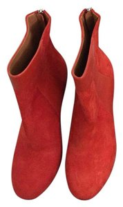 Marc by Marc Jacobs Red Boots