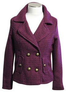 Boy Meets Girl Burgundy Jacket