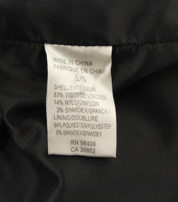 Theory Charcoal Cropped Trench Grey Jacket Image 10