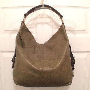Tano Leather Shoulder Hobo Bag