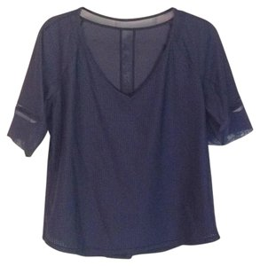 Lululemon T Shirt Navy