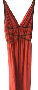 Burned orange Maxi Dress by Michelle Jonas