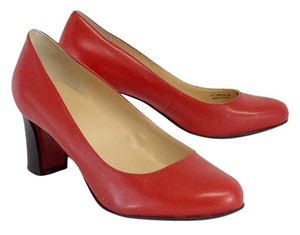 Cole Haan Red Leather Pumps