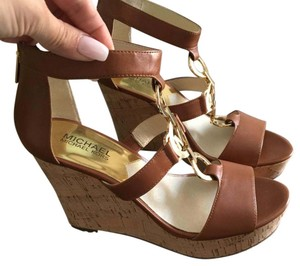 Michael Kors Sandals Sandals Mk Sandals Sandals Tan Wedges