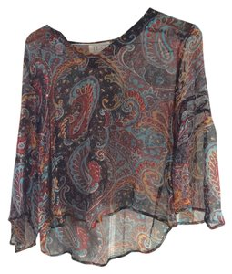 Tessa Kim Top Multi/Paisley Pattern