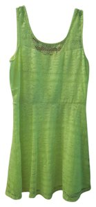 No Boundaries short dress neon yellow Yellow Neon Jr. Size on Tradesy