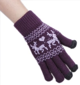 Unknown Touch Screen Acrylic Winter Warm Gloves Free Shipping