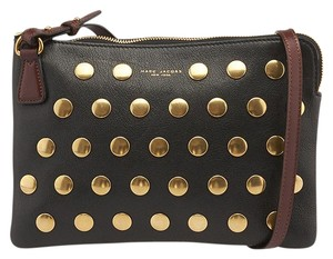Marc Jacobs Studded Leather Cross Body Bag