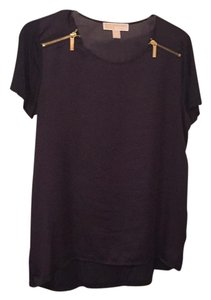 MICHAEL Michael Kors Top Navy/Dark Purple