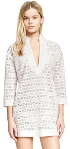 Tory Burch Cover Up Eyelet Cotton Tunic