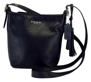 Coach Small Tassel Cross Body Bag