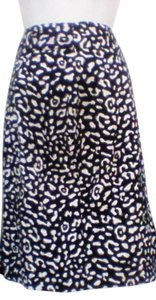 Other Plus Size Size 16 Animal Print Maxi Summer Skirt black and white