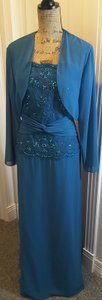 Jasmine Cerulean Blue J2269 Dress